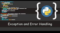 Exception and Error Handling in Python Progressive Web Apps, Programming Tutorial, Python Programming, Programming Languages, Handle, Coding, Geek, Fashion, Moda