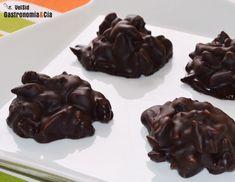 Rocas de chocolate, jengibre y nueces