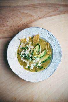 tomatillo tortilla soup // brooklyn supper
