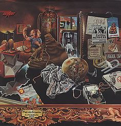 Frank Zappa Over-Nite Sensation vinyl LP album record UK K41000 DISCREET 1973