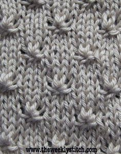 Knot Stitch - YouTube