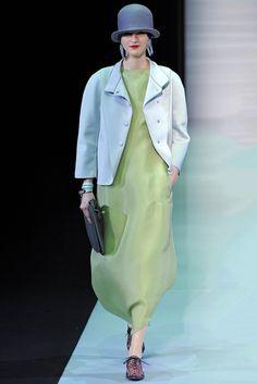 Emporio Armani Fall 2013 Ready-to-Wear Fashion Show - Magdalena Langrova