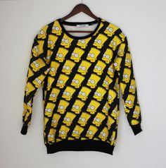 Барт Симпсон свитер. via CLASSISINTERNAL. Click on the image to see more!