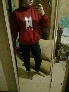 BTS Sweatshirts Simply Bangtan - iamkpopped #btsalbum #btsimagines #btskpop #btsl4l #btsaesthetic #btsrapmon #btstrash #btsfans #btsgogo #btsfff #btsm #btsdrawing #btsseokjin #BTSLoveMyself #btshoseok #BTSKL #btsfan #btsport #btsbbmas #Btsforever #btsrun #btsvelvet #btskimtaehyung #btstwitter #btsarmys #btsjeonjungkook #btstae #btsweek #btshk #btsfanpage Bts Tae, Pop Bag, Bts Merch, Bt S, Kpop Fashion, Sweatshirts, Casual, Shopping, Clothes