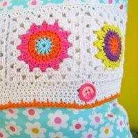 Crochet Pattern Flower Square IV