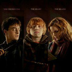 Harry, Ron, and Hermione description