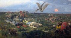 Viktor Vasnetsov, After the battle of Igor