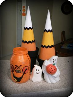 Candy Corn Decor Tutorial