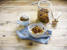 Alpro granola breakfast