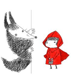 little red riding hood / cappuccetto rosso  new style