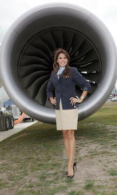Danielle Lineker former Virgin Atlantic stewardess