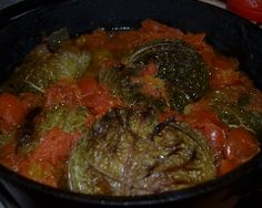 Chou farci à l'ancienne Ratatouille, Pot Roast, Paella, Steak, Pork, Beef, Chicken, Cooking, Ethnic Recipes