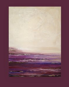 Acrílica pintura abstracta bellas artes pintura por OraBirenbaumArt