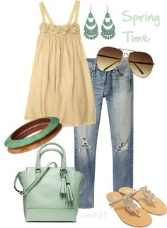 """Spring time"" by srose38 ❤ liked on Polyvore"