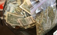 """Federal Government OKs Banks Taking Marijuana Money The Treasury Department """"seeks to move from the shadows the historically covert finan..."""