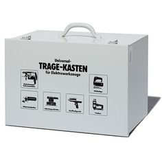 Tool box with handle-L | GENERAL VIEW