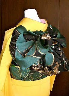 | Traditional Kimono 着物 | Obi 帯 | Musubi | 結び |