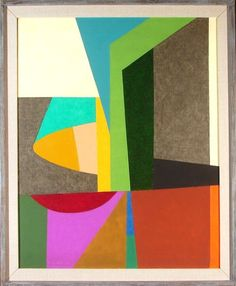Frederick Hammersley: INTRO, 1958, oil painting on canvas