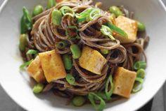 Stir-Fried Tofu with Soba Noodles