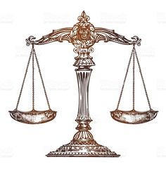 Scales of justice. Vintage sketch vector isolated on white background - Scales of justice. Vintage sketch vector royalty-free scales of justice vintage sketch vector stock - Libra Scale Tattoo, Libra Tattoo, Libra Zodiac Tattoos, Scales Of Justice Tattoo, Scales Of Justice Image, Tattoo Tradicional, Balance Tattoo, Free Vector Art, Tattoo Inspiration