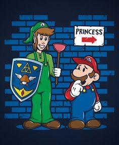 Matthew James Persons~Link & Mario
