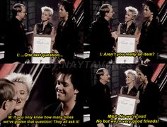Please! Don't Let this interview die!  Roxette for Jacobs Stege 1989;