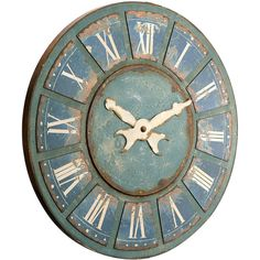 Campton Clock Décor...love the color and the look!!