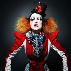 "@annielask's photo: ""By Blood a King in Heart a Clown.   Moda por Annie Lask Fotos Ivan Aguirre SPOT"""