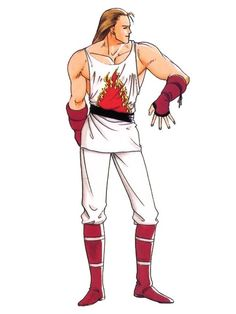 king of fighters character art Art Of Fighting, Fighting Games, Burn Knuckle, Snk King Of Fighters, Character Art, Character Design, Wolf Artwork, Street Fighter, Anime