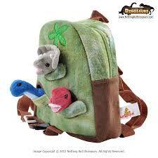 Resultado de imagen de mochila dinosaurio