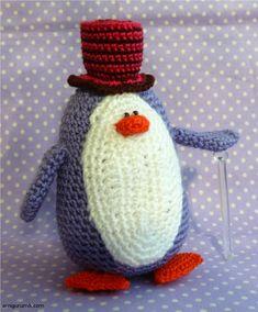 How to Knit Amigurumi Penguin