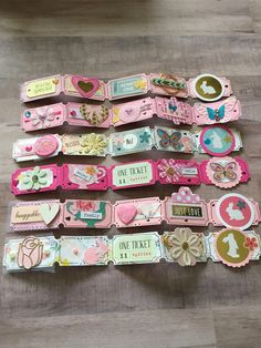 Altered Tickets 2019 Altered Tickets The post Altered Tickets 2019 appeared first on Scrapbook Diy. Scrapbook Paper Crafts, Scrapbook Cards, Mini Albums, Candy Cards, Paper Tags, Scrapbook Embellishments, Planner, Altered Art, Diy Crafts