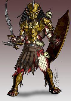 ArtStation - Centurion Predator, Ronnie Solano