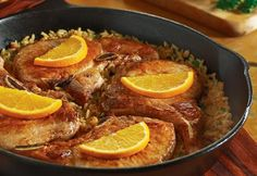 Campbell's Pork Chop Skillet Dinner Recipe