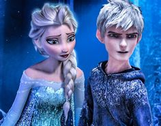 Frozen's Elsa and Jack