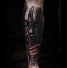 Devil Girl http://tattooideas247.com/satan-girl/