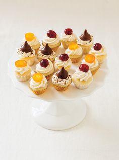 Recette de Ricardo de mini-cupcakes à la vanille