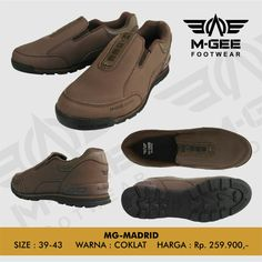M-GEE Footwear MG-MADRID Brown