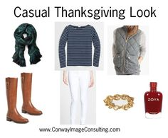 Casual Thanksgiving Look 2016 by leannimage on Polyvore featuring J.Crew, Hudson Jeans, EASTON, Banana Republic and Zoya