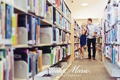 A Library Engagement Session {Lauren + Paul, Temecula Engagement Photographer} » Temecula Wedding Photographer Leah Marie