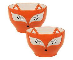 Jogo de bowls raposa                                                                                                                                                     Mais