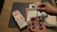 Create Gift Bags/Milk Cartons with two WRMK Punch Boards