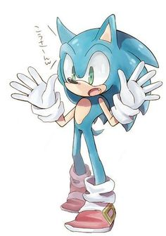 Lol I just came up w/ dis scenario: *Shadow acting all boss* Sonic: Ooh, we got a bad a$$ over heah!!