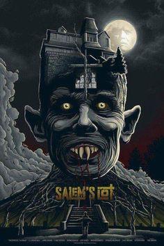 Vampire Movie Poster Art : Salem's Lot 1978 by Mike Saputo