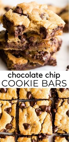 gooey, chewy, doughy yet fully cooked chocolate chip cookie bar Hot Fudge Cake, Hot Chocolate Fudge, Best Chocolate Chip Cookie, Chocolate Recipes, Fudge Recipes, Cookie Recipes, Dessert Recipes, Bar Recipes, Quick Recipes