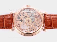 A reliable Swiss ETA Unitas 6497 Movement beats at the heart of this creation watch  Watch function Fully Functional Day-Month-Military time dials  High quality plated rose gold is perfectly fitted with solid 316 stainless steel