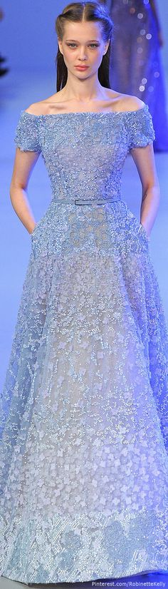 Elie Saab Haute Couture | S/S 2014 #wedding #gamos