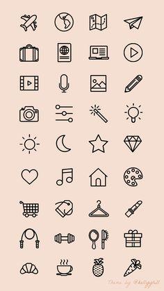 25 Easy Doodle Art Drawing Ideas For Your Bullet Journal Instagram Logo, Free Instagram, Instagram Story, Instagram Symbols, Instagram Templates, Mini Drawings, Cute Easy Drawings, Doodle Drawings, Bullet Journal Writing