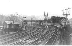 Cardiff, South Wales, Railroad Tracks, Train Tracks