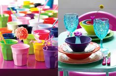 Musthave: Melamine servies - Myhomeshopping #colorblocking